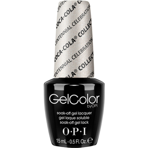 OPI GelColor Soak Off Gel Polish - Coca-Cola 100th Anniversary - Centennial Celebration 0.5 oz. (GCC94)