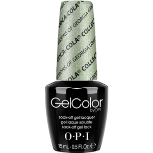 OPI GelColor Soak Off Gel Polish - Coca-Cola 100th Anniversary - Visions of Georgia Green 0.5 oz. (GCC93)