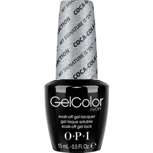 "OPI GelColor Soak Off Gel Polish - Coke My Signature is ""DC"" 0.5 oz. (GCC16)"