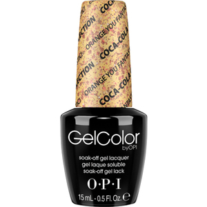 OPI GelColor Soak Off Gel Polish - Coke Orange You Fantastic! 0.5 oz. (GCC20)