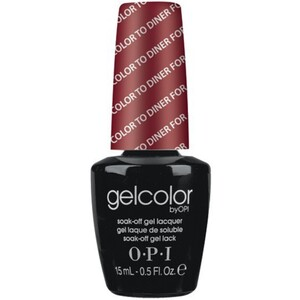 OPI GelColor Soak Off Gel Polish - Color to Diner For 0.5 oz. (GCT25)