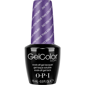 OPI GelColor Soak Off Gel Polish - Do You Have this Color in Stock-holm? 0.5 oz. (GCN47)