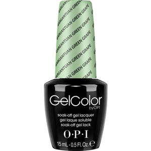 OPI GelColor Soak Off Gel Polish - Gargantuan Green Grape 0.5 oz. (GCB44)