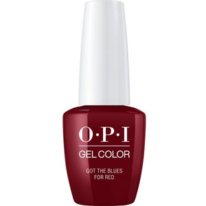 OPI GelColor Soak Off Gel Polish - GOT THE BLUES FOR RED 0.5 oz. (GCW52A)