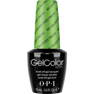 OPI GelColor Soak Off Gel Polish - Hawaii Collection - My Gecko Does Tricks 0.5 oz. (GCH66)