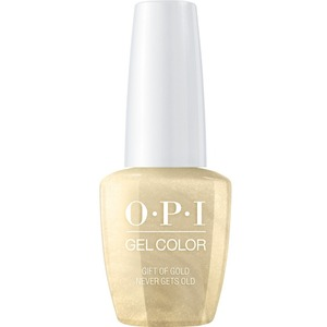 OPI GelColor Soak Off Gel Polish - Love OPI XOXO Collection - Gift of Gold Never Gets Old (HPJ12)
