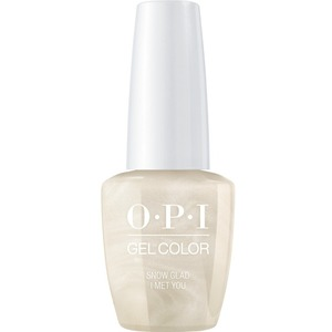 OPI GelColor Soak Off Gel Polish - Love OPI XOXO Collection - Snow Glad I Met You (HPJ01)