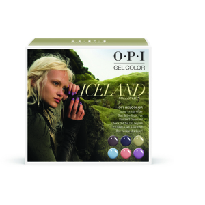 OPI GelColor Soak Off Gel Polish - IceLand Collection - Add-On Kit #2 6 Pieces (GC857)