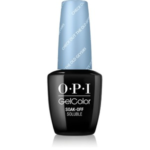 OPI GelColor Soak Off Gel Polish - IceLand Collection - CHECK OUT THE OLD GEYSIRS 0.5 oz. (GCI60)