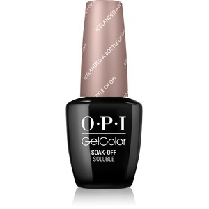 OPI GelColor Soak Off Gel Polish - IceLand Collection - ICELANDED A BOTTLE OF OPI 0.5 oz. (GCI53)