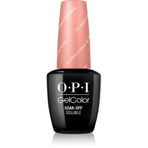 OPI GelColor Soak Off Gel Polish - IceLand Collection - I'LL HAVE A GIN & TECTONIC 0.5 oz. (GCI61)