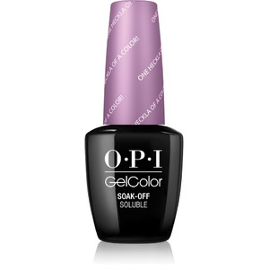 OPI GelColor Soak Off Gel Polish - IceLand Collection - ONE HECKLA OF A COLOR! 0.5 oz. (GCI62)