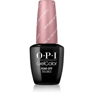 OPI GelColor Soak Off Gel Polish - IceLand Collection - REYKJAVIK HAS ALL THE HOT SPOTS 0.5 oz. (GCI63)