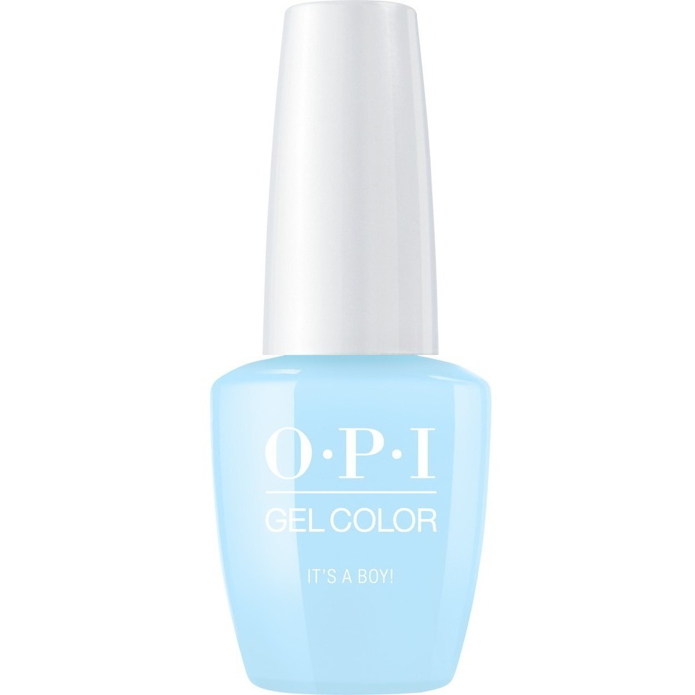 Opi Gelcolor Soak Off Gel Polish It S A Boy 0 5 Oz Gct75a