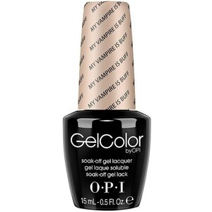 OPI GelColor Soak Off Gel Polish - My Vampire is Buff 0.5 oz. (GCE82)