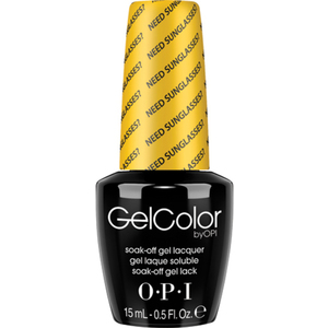 OPI GelColor Soak Off Gel Polish - Need Sunglasses? 0.5 oz. (GCB46)