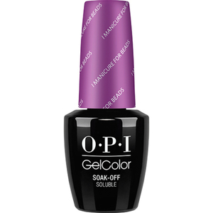 OPI GelColor Soak Off Gel Polish - New Orleans Collection - I Manicure for Beads 0.5 oz. (GCN54)