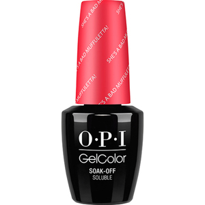 OPI GelColor Soak Off Gel Polish - New Orleans Collection - She's a Bad Muffuletta! 0.5 oz. (GCN56)
