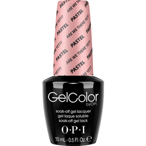 OPI GelColor Soak Off Gel Polish - Pastels Are We There Yet? 0.5 oz. (GC105)