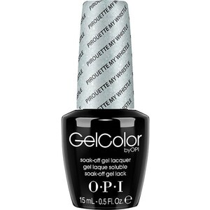 OPI GelColor Soak Off Gel Polish - Pirouette My Whistle 0.5 oz. (GCT55)