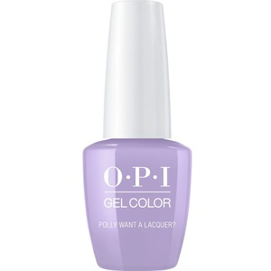 OPI GelColor Soak Off Gel Polish - POLLY WANT A LACQUER 0.5 oz. (GCF83A)