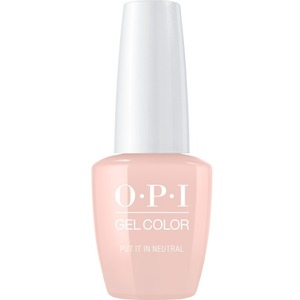 OPI GelColor Soak Off Gel Polish - PUT IT IN NEUTRAL 0.5 oz. (GCT65A)