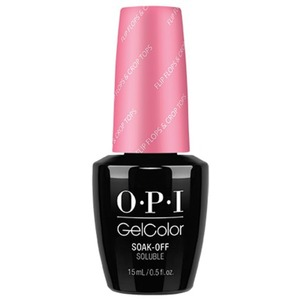 OPI GelColor Soak Off Gel Polish - Retro Summer Collection - Flip Flop Crop Tops - 0.5 oz. (GCR72)