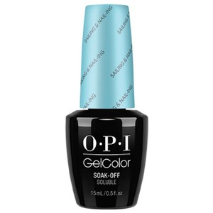 OPI GelColor Soak Off Gel Polish - Retro Summer Collection - Sailing Nailing - 0.5 oz. (GCR70)