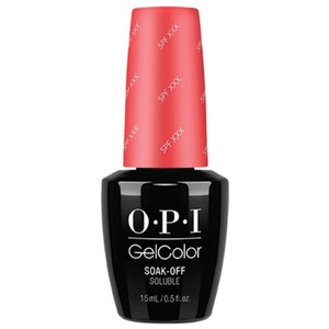 OPI GelColor Soak Off Gel Polish - Retro Summer Collection - SPF XXX - 0.5 oz. (GCR69)