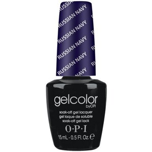 OPI GelColor Soak Off Gel Polish - Russian Navy 0.5 oz. (GCR54)