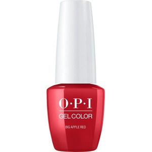 OPI GelColor Soak Off Gel Polish - Small Size .25oz - BIG APPLE RED 7.5 mL. (GCN25B)
