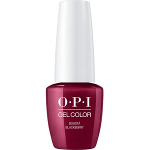 OPI GelColor Soak Off Gel Polish - Small Size .25oz - BOGOTA BLACKBERRY 7.5 mL. (GCF52B)