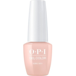 OPI GelColor Soak Off Gel Polish - Small Size .25oz - BUBBLE BATH 7.5 mL. (GCS86B)