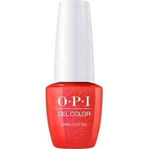 OPI GelColor Soak Off Gel Polish - Small Size .25oz - GIMME A LIDO KISS 7.5 mL. (GCV30B)