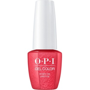OPI GelColor Soak Off Gel Polish - Small Size .25oz - GO WITH THE LAVA FLOW 7.5 mL. (GCH69B)