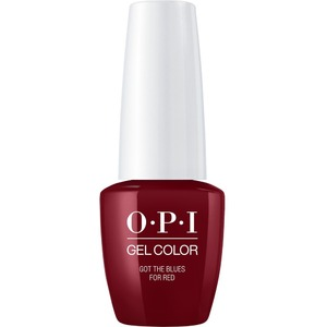 OPI GelColor Soak Off Gel Polish - Small Size .25oz - GOT THE BLUES FOR RED 7.5 mL. (GCW52B)