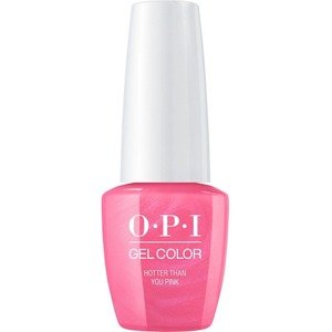OPI GelColor Soak Off Gel Polish - Small Size .25oz - HOTTER THAN YOU PINK 7.5 mL. (GCN36B)