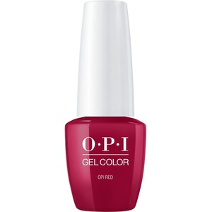 OPI GelColor Soak Off Gel Polish - Small Size .25oz - OPI RED 7.5 mL. (GCL72B)