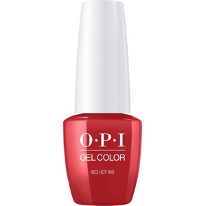 OPI GelColor Soak Off Gel Polish - Small Size .25oz - RED HOT RIO 7.5 mL. (GCA70B)