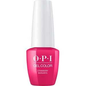 OPI GelColor Soak Off Gel Polish - Small Size .25oz - STRAWBERRY MARGARITA 7.5 mL. (GCM23B)
