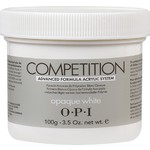 OPI Competition Powder - Advanced Formula Acrylic System - Opaque White 3.52 oz. (619828182562)