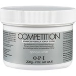 OPI Competition Powder - Advanced Formula Acrylic System - Opaque White 7.05 oz. (619828182609)
