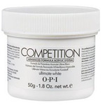 OPI Competition Powder - Advanced Formula Acrylic System - Ultimate White 1.76 oz. (619828041951)