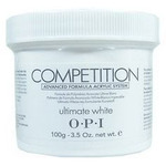OPI Competition Powder - Advanced Formula Acrylic System - Ultimate White 3.52 oz. (619828041968)