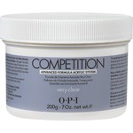 OPI Competition Powder - Advanced Formula Acrylic System - Very Clear 7.05 oz. (619828182968)