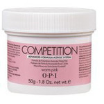 OPI Competition Powder - Advanced Formula Acrylic System - Warm Pink 1.76 oz. (619828183620)