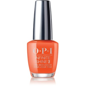 OPI Infinite Shine - Air Dry 10 Day Nail Polish - California Dreaming - SANTA MONICA BEACH PEACH 0.5 oz. - ISLD39 (ISLD39)