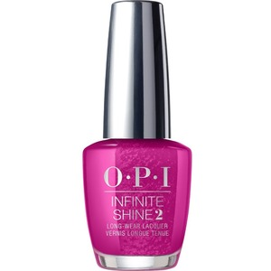 OPI Infinite Shine - Air Dry 10 Day Nail Polish - FLASHBULB FUCHSIA 0.5 oz. - ISLB31 (ISLB31)