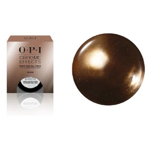 OPI CHROME EFFECTS - Mirror Shine Nail Powder - Bronzed by the Sun 0.1 oz. - 3 grams (CP002)