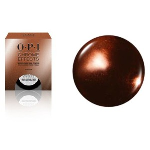 OPI CHROME EFFECTS - Mirror Shine Nail Powder - Great Copper-tunity 0.1 oz. - 3 grams (CP003)